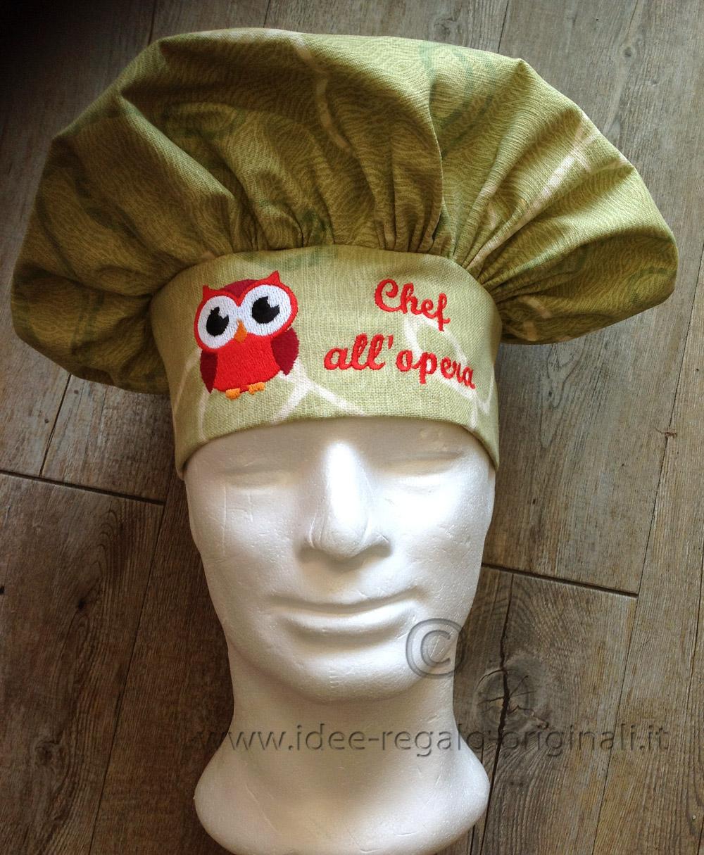 Regalo originale per Uomo e Ragazzo - Cappello da cuoco