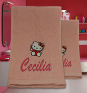 Coppia asciugamani Hello Kitty, Idee regalo originali